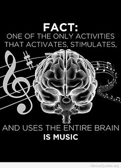 fact about music and the brain