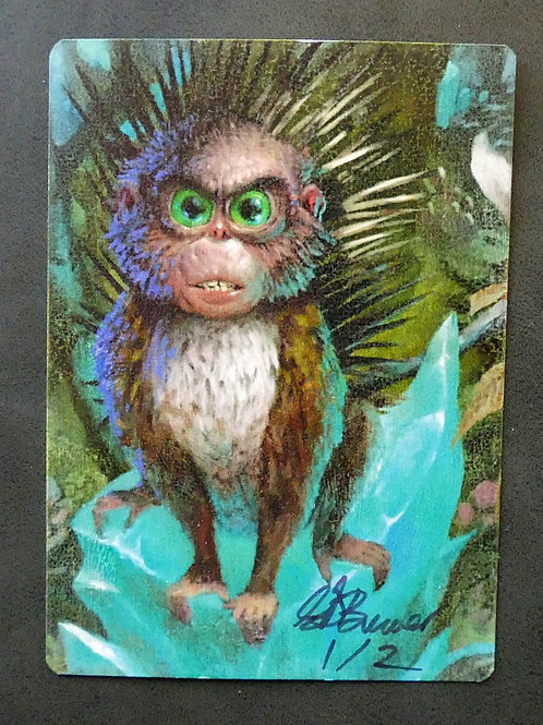 Spiky Critter / Prickly Marmoset Limited Edition 1 of 2