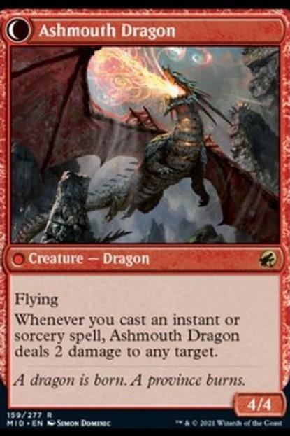 Ashmouth Dragon / Smouldering Egg