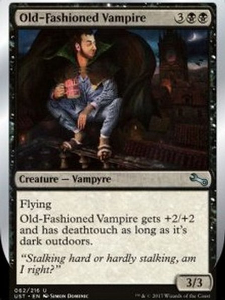 Old Fashioned Vampire