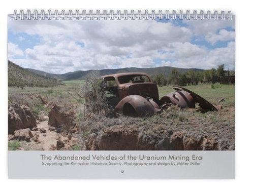 Large Calendar Uranium Era Abandoned Cars