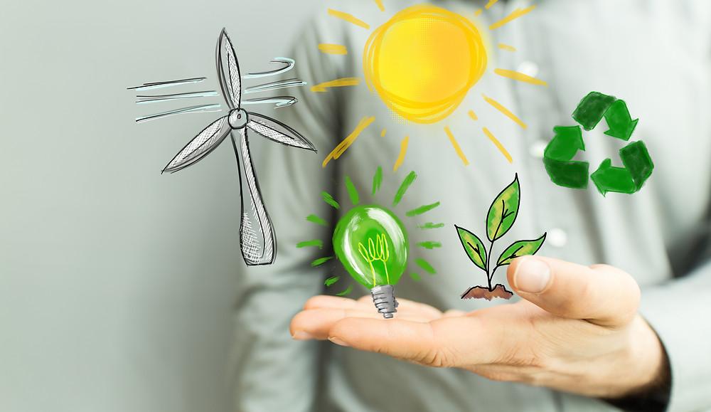 Renewable Energy symbols