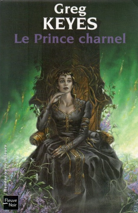 The Charnel Prince French edition cover art