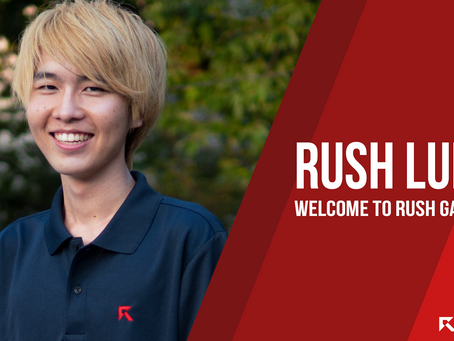 Rush Luke 選手 新加入のお知らせ