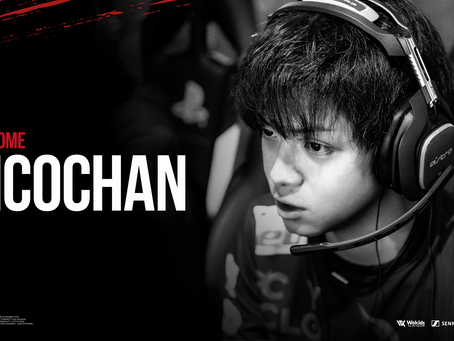 Nicochan選手、仮入隊について