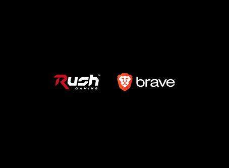 Rush Gamingは次世代ブラウザBraveを提供するBrave Softwareとパートナー契約を締結