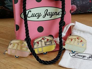 Unique British design Lucy Jaynes Vintage Caravan jewllery