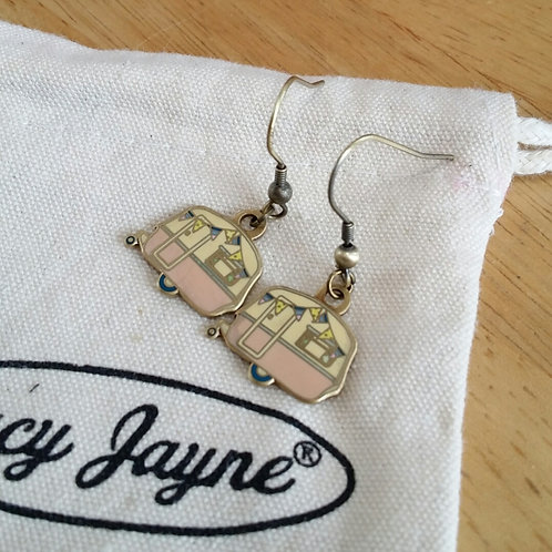 Vintage Caravan Earrings Limited Edition