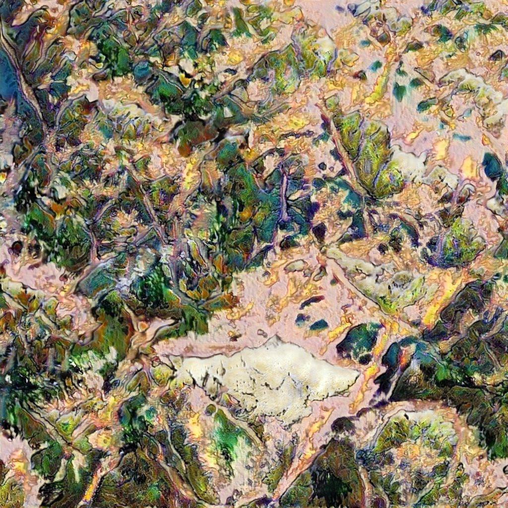 AI Generated Landscape Painting #4, Robbie Barrat