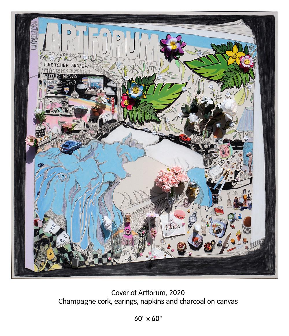 Gretchen Andrew cover of Artforum