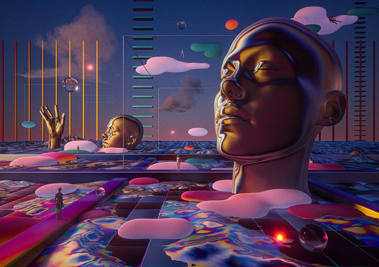 Mark Constantine Inducil - Severe Surrealistic Hallucinations