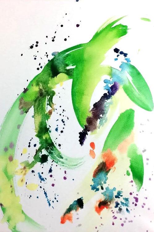 豊穣の舞【原画】