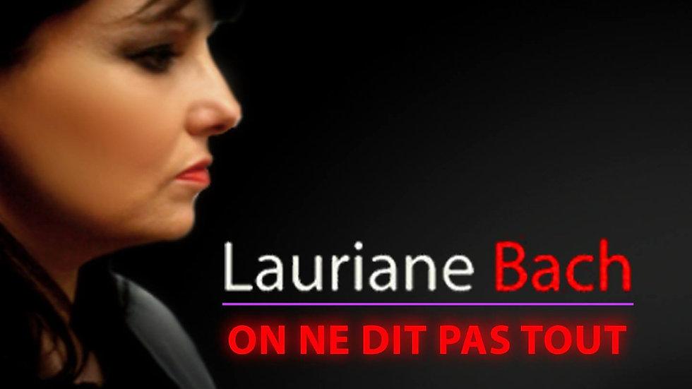"""Single """"On ne dit pas tout"""" Lauriane Bach"""