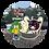 Thumbnail: ケヤッキー×東北ずん子コラボ缶バッジ【東北きりたん②】
