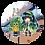 Thumbnail: ケヤッキー×東北ずん子コラボ缶バッジ【東北ずん子②】