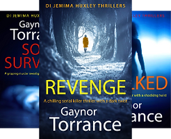 Jemima Huxley Thrillers cover collection
