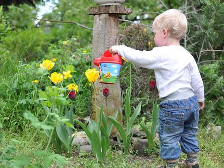 Pourquoi laisser ton enfant faire son bout de jardin ? Et comment ?