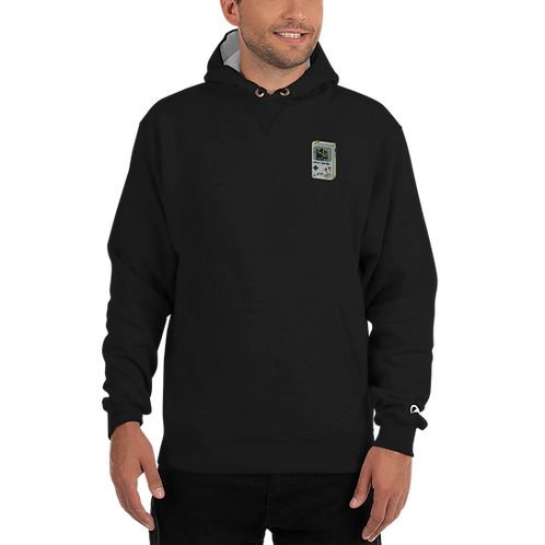 Cheat Codes Embroidered Champion Hoodie