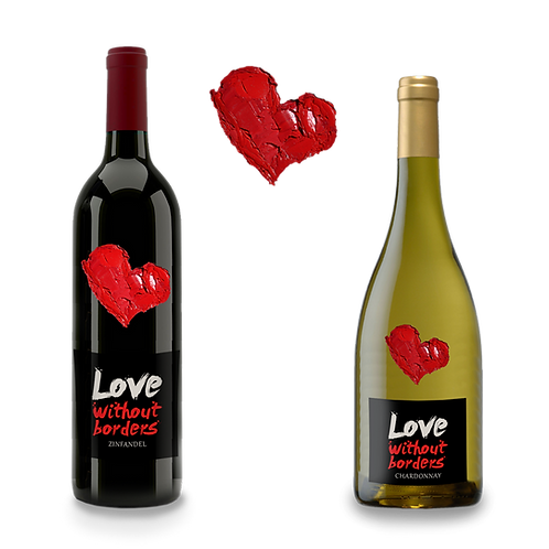 Love without borders; Chardonnay and Zinfandel