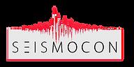 Transparent Logo svart text vit botten i