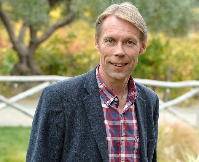 Winemaker Mike Sjöblom