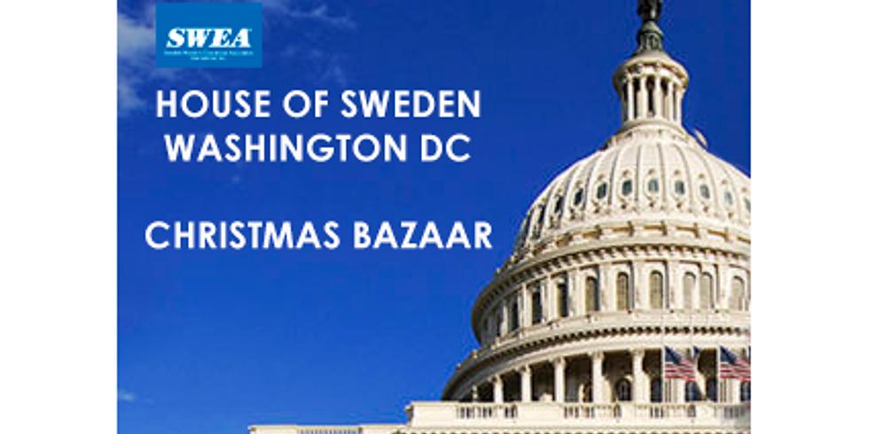 SWEA Christmas Bazaar/Julmarknad in Washington DC