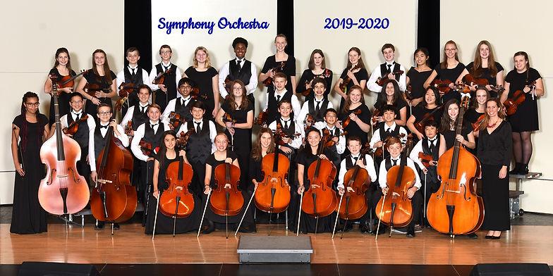 Kinard Symphony Orchestra 2019-2020