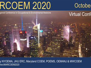 2020 Mid-Atlantic Regional Conference in Occupational & Environmental Medicine (Virtual)