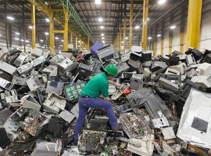 Arsenic burden in e-waste recycling workers