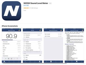 NIOSH Sound Level Meter for iPhone