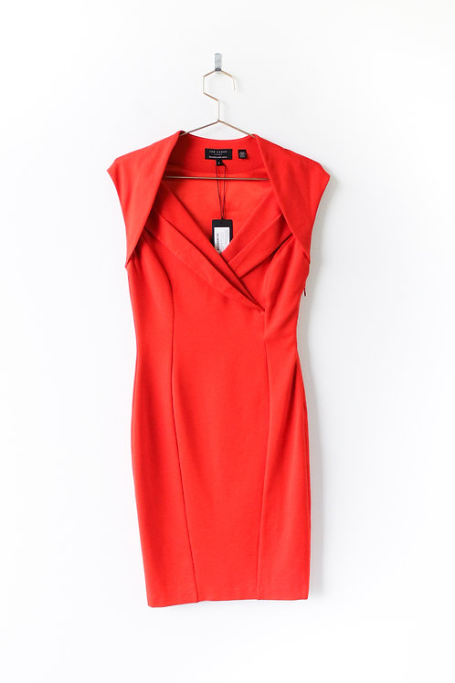 Ted Baker Red Dress NWT Size 2