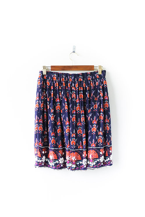 Anthropologie Maeve Boho Skirt Size Small