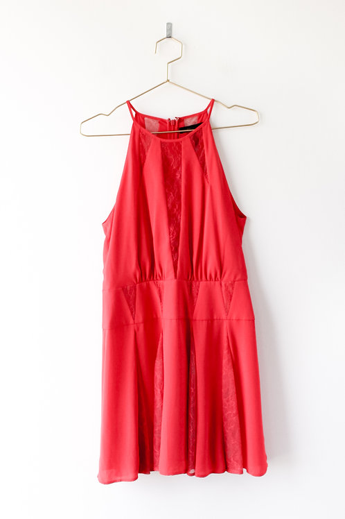 BCBG Red Dress Size 6