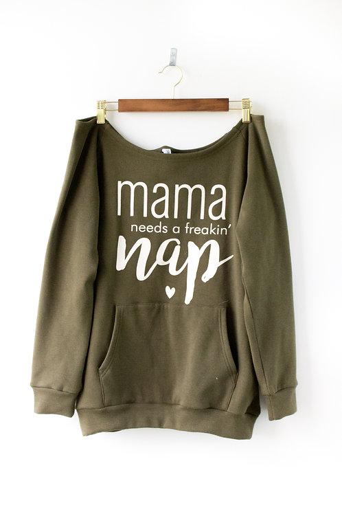 Mama Pullover Sweatshirt Size Medium