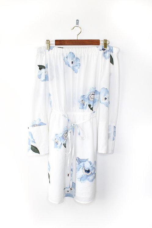 DEX Floral Off The Shoulder Dress Size Medium
