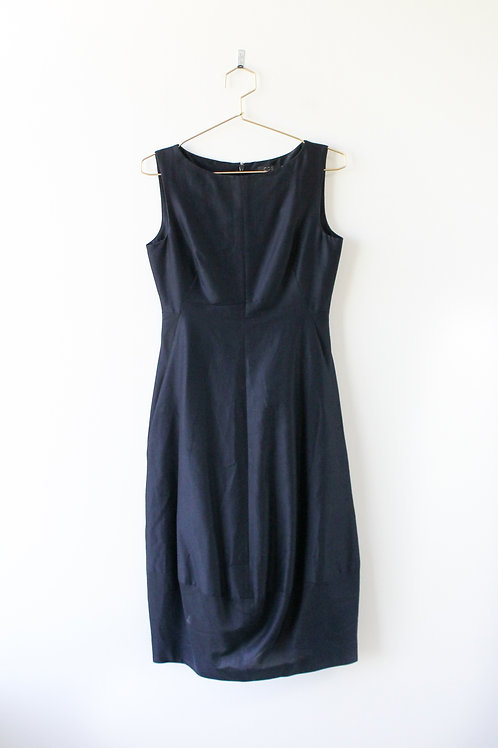 Anthropologie COS Navy Dress Size 6