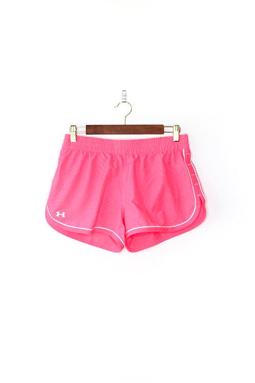 Under Armour Neon Pink Shorts Size Small