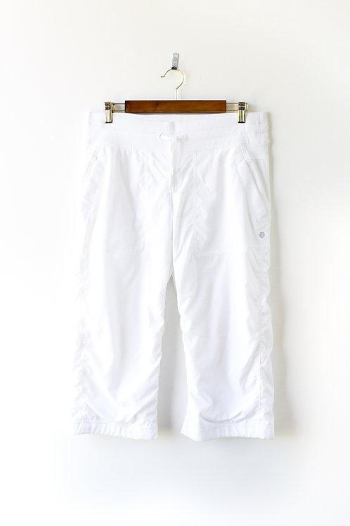 Lululemon White Capris Size 8