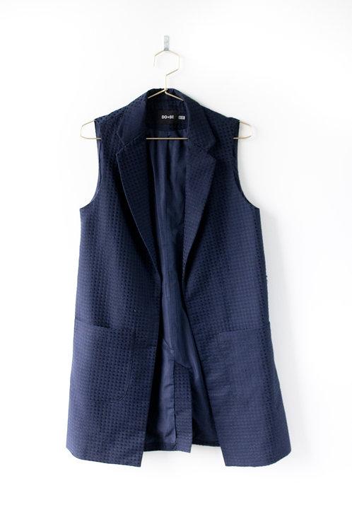 Do + Be Blue Vest Size Medium