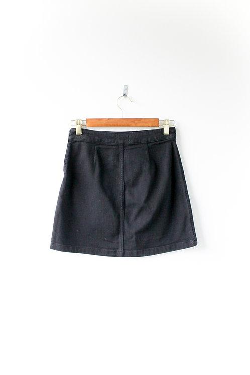 Wilfred Free Black Denim Skirt Size 2