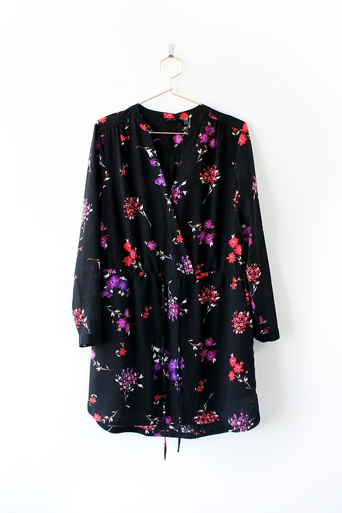 DEX Floral Dress Size Large
