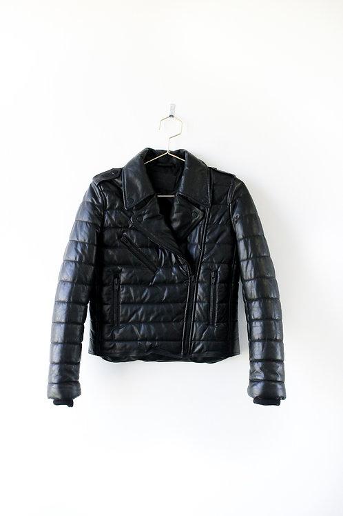 Alexander Wang X H&M Leather Jacket Size 4
