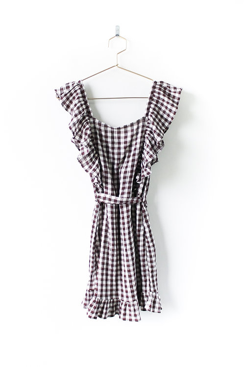 Topshop Gingham Dress NWT Size 2