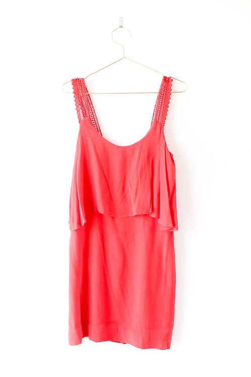 Anthropologie Maeve Red Dress Size 6