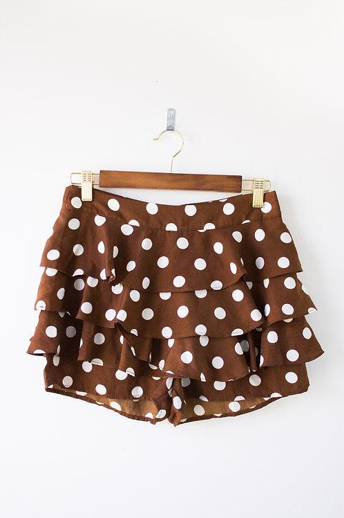 Love & Harmony Polka Dot Shorts Size Small