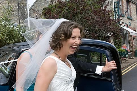 Big Bride Smile