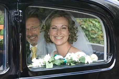 Beaming Bride Smile