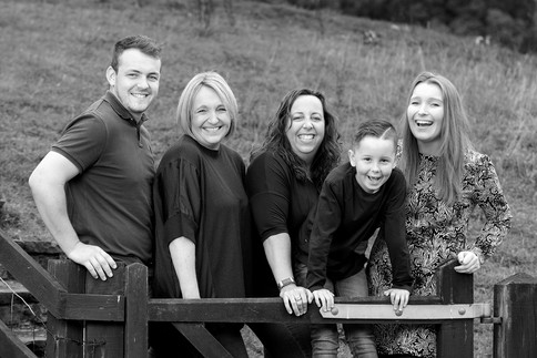 Spontaneous Laughter in a Family Portrait