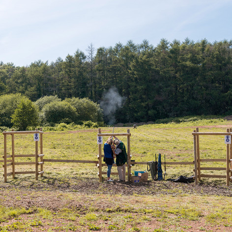 Clay Pigeon Shoot at Hensol Castle