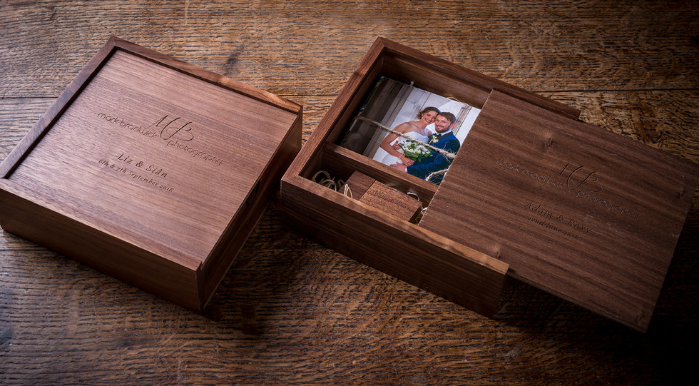 USB wedding box